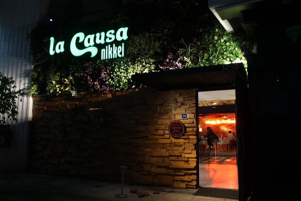 Restaurant «La Causa» Callao y Juncal